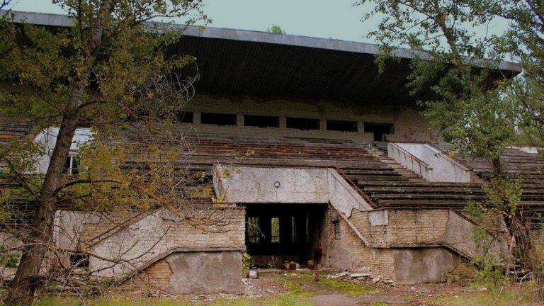 Стадионът в Припят, на който така и не се играе нито една футболна среща