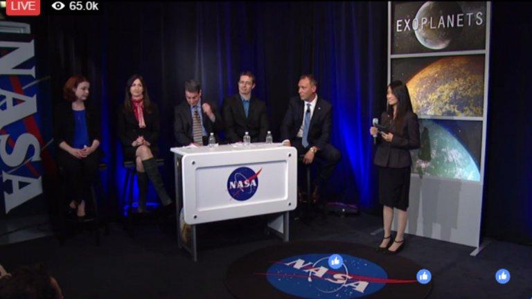 НАСА откри 7 планети, подобни на Земята