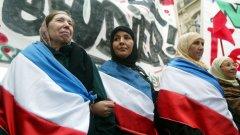 """Наскоро Саркози заяви, че в името на """"секуларизма"""" трябва да бъде забранено на мюсюлманки да носят забрадки в университетите - коментар, който предизвика негативно отношение дори в собствената му партия."""