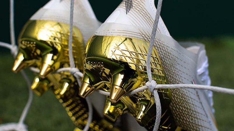 """Обяснено: Защо adidas обу Салах със """"златни"""" обувки за мача с Аякс?"""