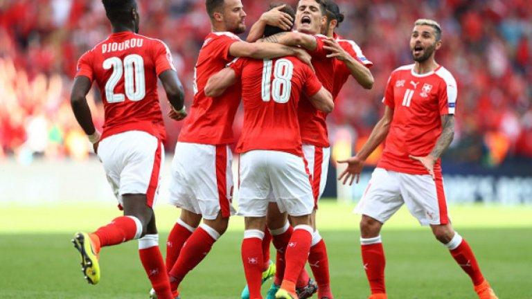Швейцария събра 4 точки след първите си два мача.