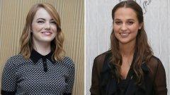 Ема Стоун и Алисия Викандер са спрягани да изиграят великата писателка в два отделни биографични филма - стига те да бъдат одобрени от наследниците на Кристи