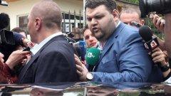 Делян Пеевски, чиито появи в Следствието досега винаги бяха предварително анонсирани, този път успя да избегне присъствието на репортери