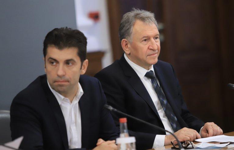 Кирил Петков и Стойчо Кацаров