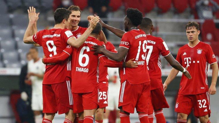 Левандовски прати Байерн на финал за Купата на Германия