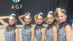 Момичетата от ансамбъла бяха страхотни вчера и днес и заслужиха първото място