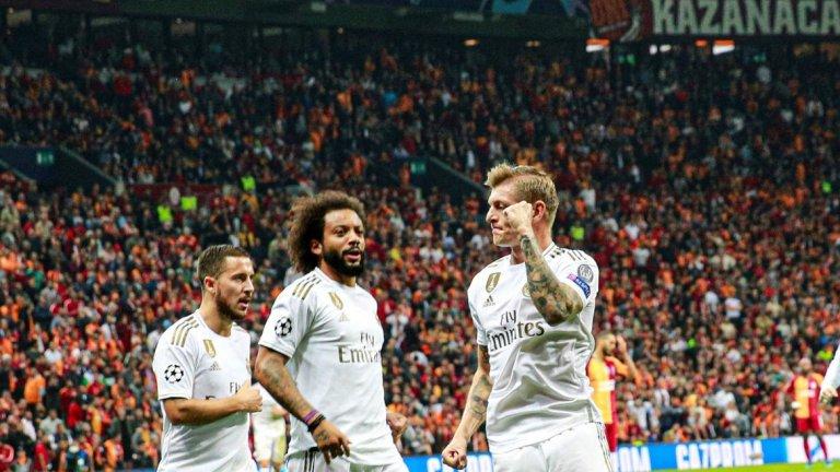 Тони Крос беше автор на единствения гол, а след почивката Реал изпусна доста положения да си реши рано мача
