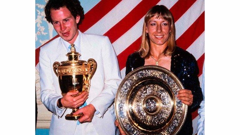 Балът на шампионите на Уимбълдън: От Агаси и Граф до момента, в който Халеп отказа да танцува с Джокович
