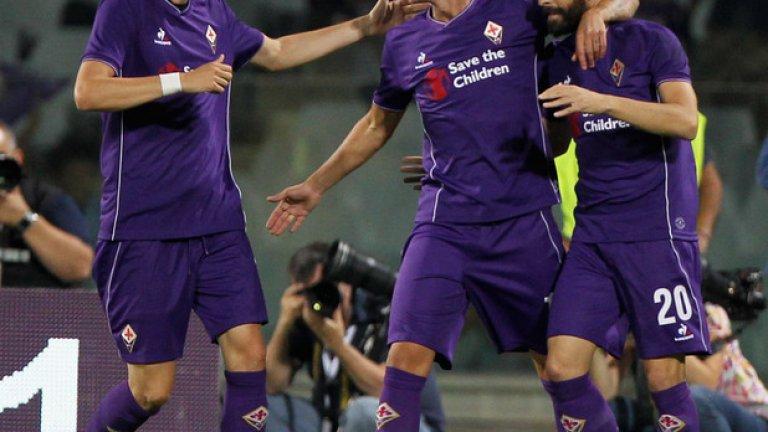 """18. Фиорентина """"Виолетовите"""" ги чака нова ера с Пауло Соуса. Повртугалският специалист ще наложи атакуващ стил, който се прояви още в предсезонната подготовка – при загубата с 2:4 от ПСЖ и победата с 2:1 над Барселона. Марио Суарес бе покупката на лятото, а фантазията в отбора отново ще идва от Джузепе Роси, който отбеляза 16 гола в 21 мача през миналия сезон. Прогноза: 7 място"""