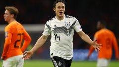 И в обновения си състав Германия показа, че може да взима такива мачове, а Нико Шулц от Хофенхайм стана неочакван герой с победен гол и асистенция