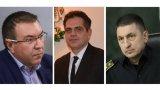 Три са новите лица в правителството - проф. Костадин Ангелов, Лъчезар Борисов и главен комисар Христо Терзийски. Какво знаем за тях?