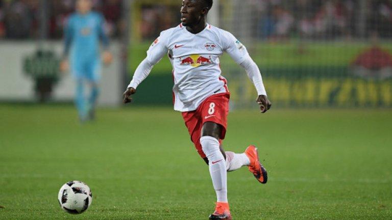 Дефанзивен полузащитник: Наби Кейта, Лайпциг – 88,5 т.