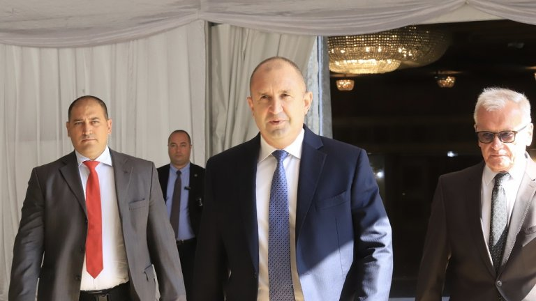 Президентът и екипът му дадоха старт на нов стратегически документ за развитието на държавата