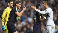 Ян Вертонген се кара с Роналдо след спречкването между двамата през първото полувреме. Звездата на Реал получи само жълт картон за ситуацията