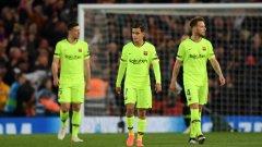 Барселона пропиля преднина от три гола за втора поредна година