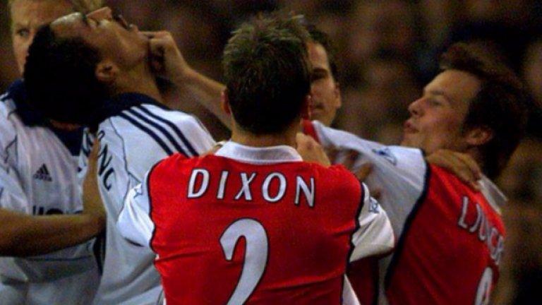 Лий Диксън  Приключи кариерата си в Арсенал, след това се е появявал като анализатор в няколко различни телевизии.
