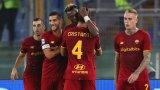 Ейбрахам върна настроението в Рома, Наполи продължава без грешка