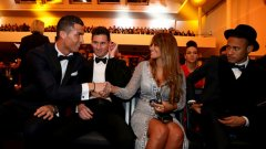 Кристиано Роналдо се запозна със съпругата на Меси