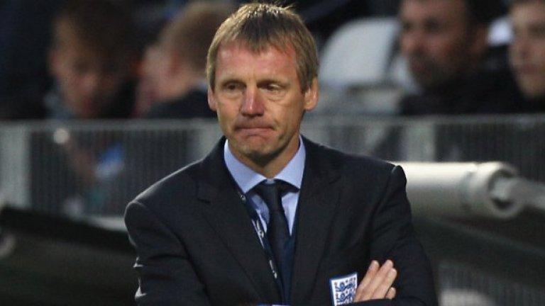 Младежкият национален отбор на Англия, който е воден от Стюърт Пиърс се провали на европейското първенство в Дания
