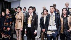Моделът Рейн Дав (в средата) предпочита да не поставя етикети на половата си идентичност. Тя принадлежи към група в модната индустрия, известна в последните години като джендъркуир...