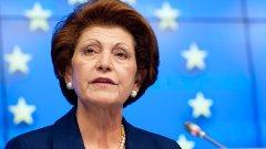 Еврокомисарят Андрула Василиу ще разследва решението на Лондон за временно спиране на заемите за румънски и български студенти