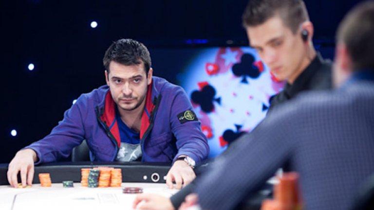 Димитър Данчев завърши на второ място в състезание от Европейския покер тур (EPT) в Сан Ремо, реализирайки най-голямата досега българска печалба в историята на играта - 600 000 евро!