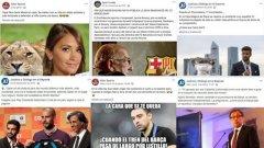 Барселона е плащал на фирма да публикува негативно съдържание за играчи като Лионел Меси и Жерар Пике, за които се знае, че са с най-силното влияние в съблекалнята на Барса, както срещу легендите Пеп Гуардиола, Шави Ернандес и Карлес Пуйол, както и срещу потенциалните претенденти за президентския пост Виктор Фонт, Жоан Лапорта и Агусти Бенедито.