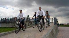 Личният пример на кмета Енрико Пенялоса е по-силен от многословните аргументи