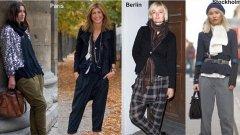 Улична мода от различни части на Европа