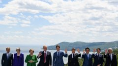 На фона на много неясноти започва срещата на лидерите от Г-7