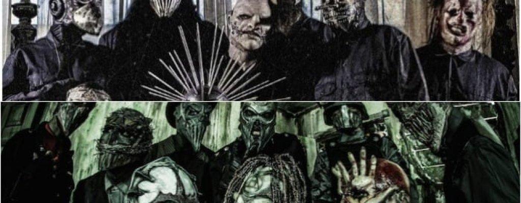"""Slipknot срещу Mushroomhead  Първопричина за конфликта между двете групи е, че Mushroomhead смятат, че Slipknot просто са откраднали цялата им концепция за визията с носенето на маски. В средата на 1998 г. Slipknot подписа тлъст договор с Roadrunner Records за записване на седем албума. Година по-рано лейбълът се интересувал да подпише с Mushroomhead, но те отказали, защото сделката не ги устройвала. """"Slipknot са просто наши клонинги, измислени от Roadrunner, и всички го знаят"""", убеден е бившият вокалист на Mushroomhead Джеф Хатрикс. И други членове на Mushroomhead са обвинявали Slipknot, че са продажници и плагиати. На концерт на Slipknot в Кливланд през 1999 г. фенове на  Mushroomhead започнали да замерват музикантите с бутилки и всякакви предмети, стигнало се до масов бой. След това певецът на Slipknot Кори Тейлър директно се закани на Mushroomhead, че ще """"грабне всеки от тях за маската и ще го рита с коляно в главата, докато припадне от загубата на кръв"""". Враждата продължи над десетилетие, но някъде след 2010 г. двете групи се помириха и Кори Тейлър даже заговори за общо турне между тях и други маскирани банди като Mudvayne и Gwar."""