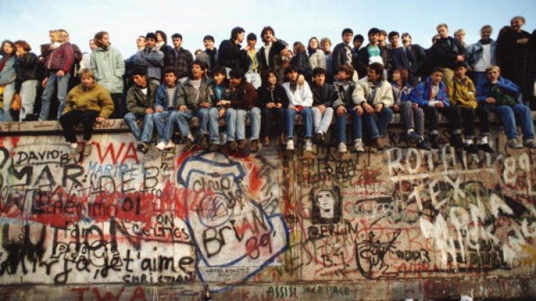 Как журналистите от Източния блок видяха падането на Берлинската стена