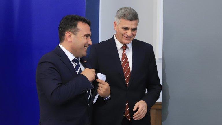 Никой не вярва, че ситуаицята със Северна Македония ще се разреши изведнъж и магически след посещението на Заев