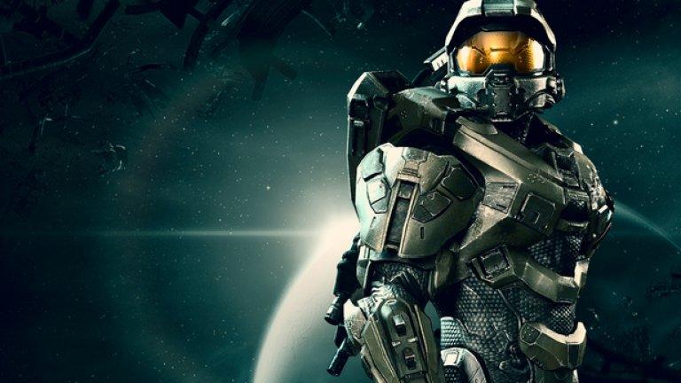 1.Master Chief  Първа поява: Halo: Combat Evolved (2001)  Дори и тези, които не харесват Xbox конзолите или Halo игрите са принудени да признаят, че Master Chief се издигна до ранга на персонажи като Марио, Соник и още малцина други.  Той вече е икона в поп културата и силуетът му е разпознаваем навсякъде. Изглежда като ирония, че мълчаливият ветеран от безброй битки с безброй извънземни, чието лице дори не сме виждали, днес е едно от лицата на гейминга като цяло. Но Master Chief е идеалният персонаж, позволяващ на геймъра да се асоциира с него. Той просто дава възможност на всеки зад монитора да си представи, че е в неговия костюм – а във видеоигрите това винаги е било особено ценно.