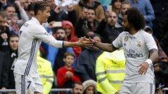 Роналдо и Марсело бяха двамата голмайстори срещу Валенсия. Реал се затрудни, но постигна задължителната победа