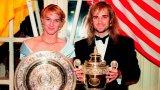 На шампионския бал през 1992-ра още никой не предполагаше, че Андре Агаси и Щефи Граф ще станат мъж и жена.