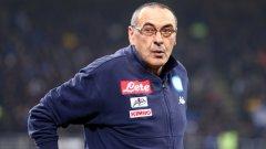 Маурицио Сари може да замени Антонио Конте начело на Челси