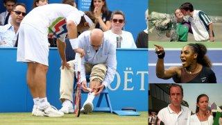 10 от най-незабравимите наказания в тениса...