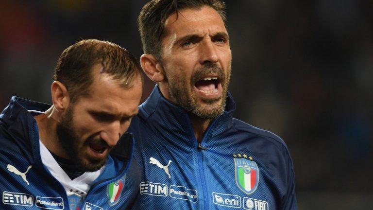 Централен защитник: Джорджо Киелини, Италия