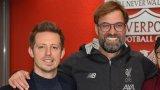 Клоп и Едуардс (вляво) са много близки и постигнаха отлично разбирателство. По всяка вероятност спортният директор ще бъде заменен от друг човек от клуба, но загубата за Ливърпул ще е огромна