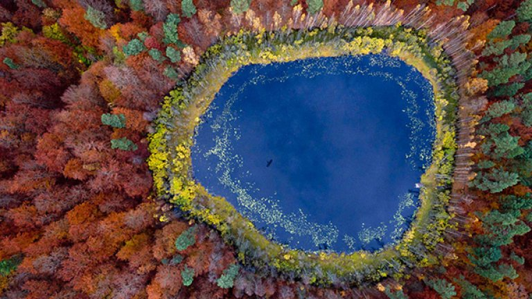 Езеро в Померания, Полша