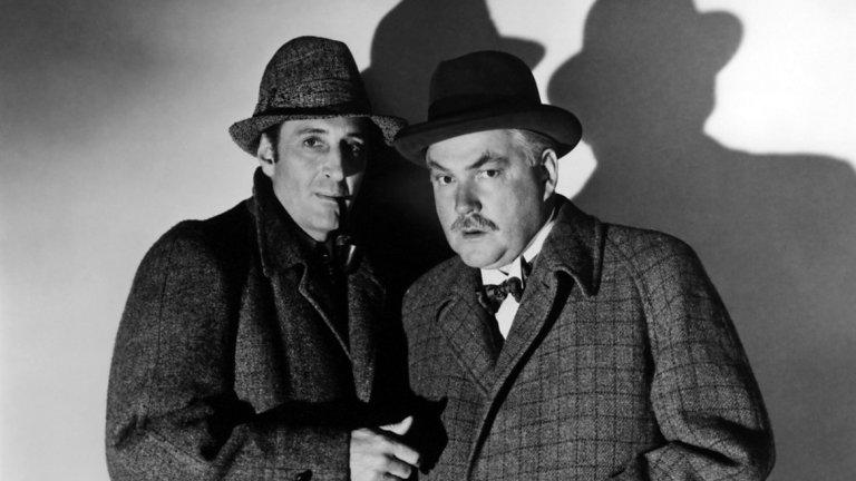 Баскервилското куче (1939)   Макар по-известните появи на Шерлок Холмс да са на малкия екран, един от най-известните детективи в света няма как да бъде пренебрегнат. Шерлок Холмс намира своя път, първо към големия, а после и към малкия екран още в началото на 20 век.