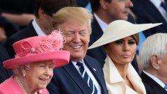 Херцозите на Кеймбридж и Съсекс така и не позираха с президента