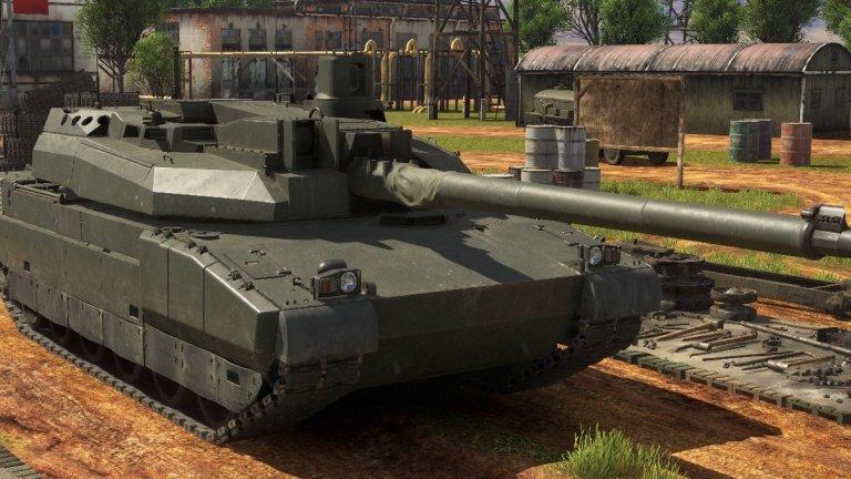 Танк Льоклер, представен в War Thunder