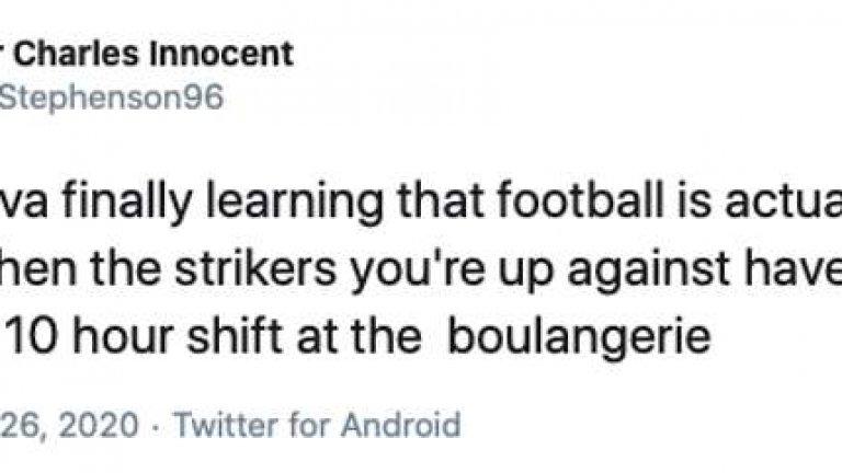 Twitter съсипва Тиаго Силва: Видя, че футболът е труден, когато срещу него не са нападатели-пекари