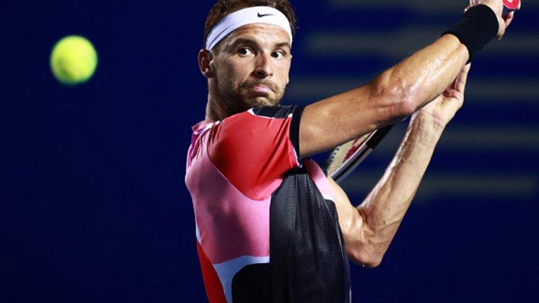 Григор ще се завърне в топ 20 след полуфинала в Акапулко.