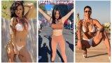 Жената с шала на Салернитана се оказа порно звезда, обещала стриптийз на градския площад за промоцията