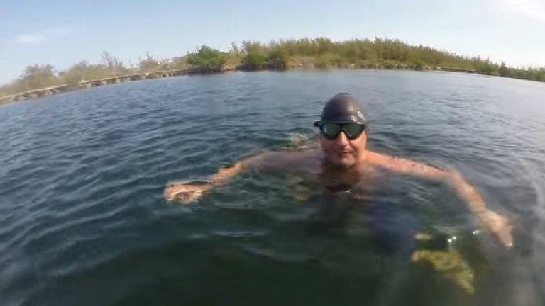 Бен Хупър ще се пробва да преплува Атлантическия океан