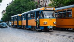 Част от линиите на градския транспорт са със закъснение