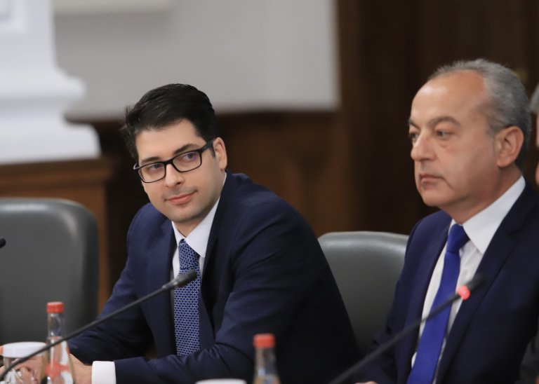 Атанас Пеканов и Гълъб Донев
